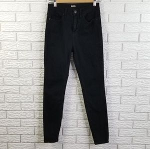 UO BDG High Rise Twig Ankle Skinny Jeans 28 Black